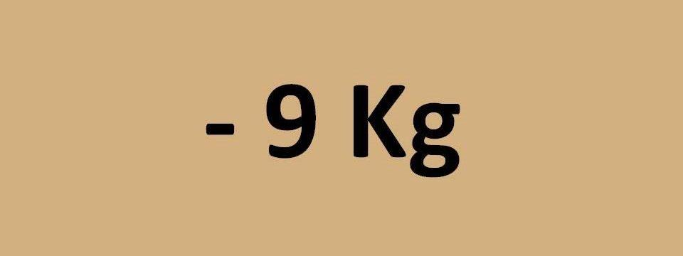 - 9 kg