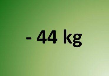 - 44 kg