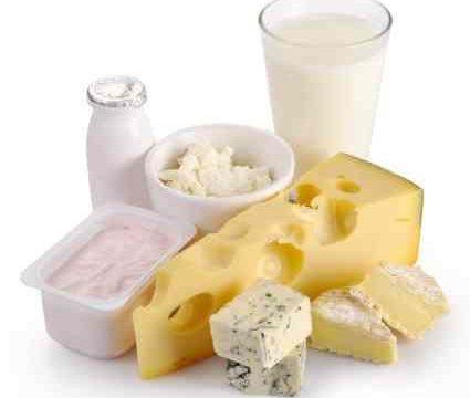 latte e latticini sono l'unica fonte di calcio